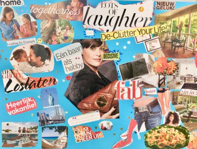 Vision Board workshop Focus, Fun and Creativity: January 11, 2020