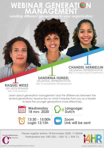 Webinar Generation Management (Suriname)