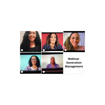 Impression webinar Generation Management (Suriname)