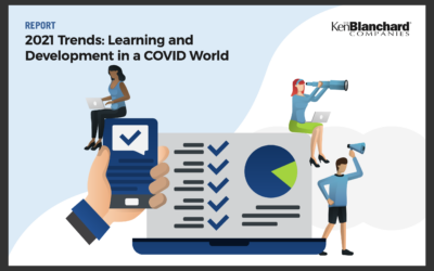 Ken Blanchard report: 2021 trend, Learning and developing in a COVID world